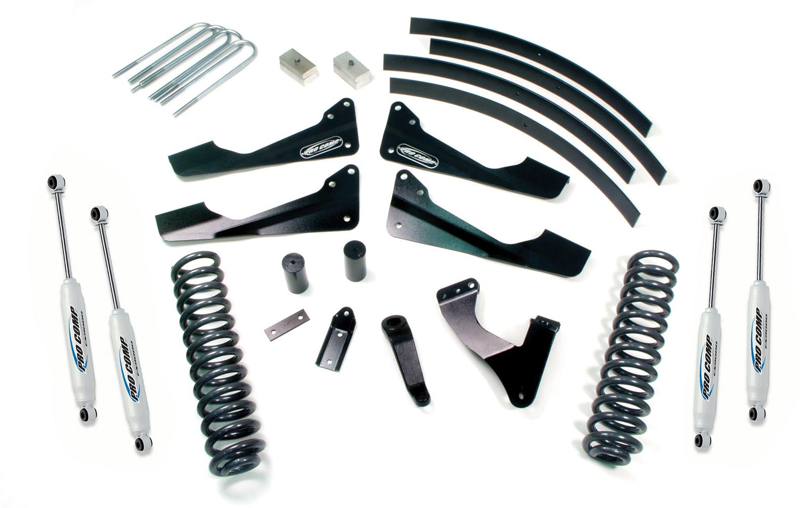 hight resolution of pro comp suspension lift kits k1088b free shipping on orders over 99 at summit racing