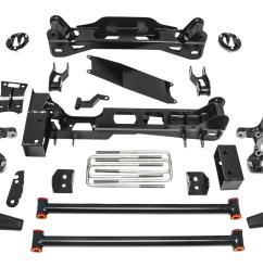 pro comp stage ii suspension lift kits k4189bpx free shipping on orders over 99 at summit racing [ 1600 x 928 Pixel ]