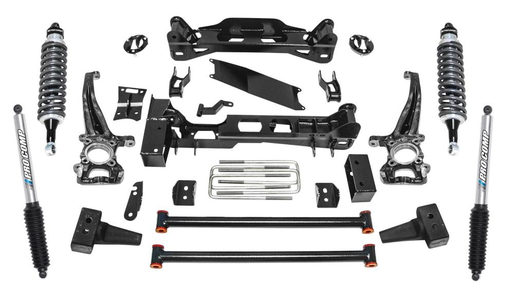 medium resolution of pro comp stage ii suspension lift kits k4189bpx free shipping on orders over 99 at summit racing