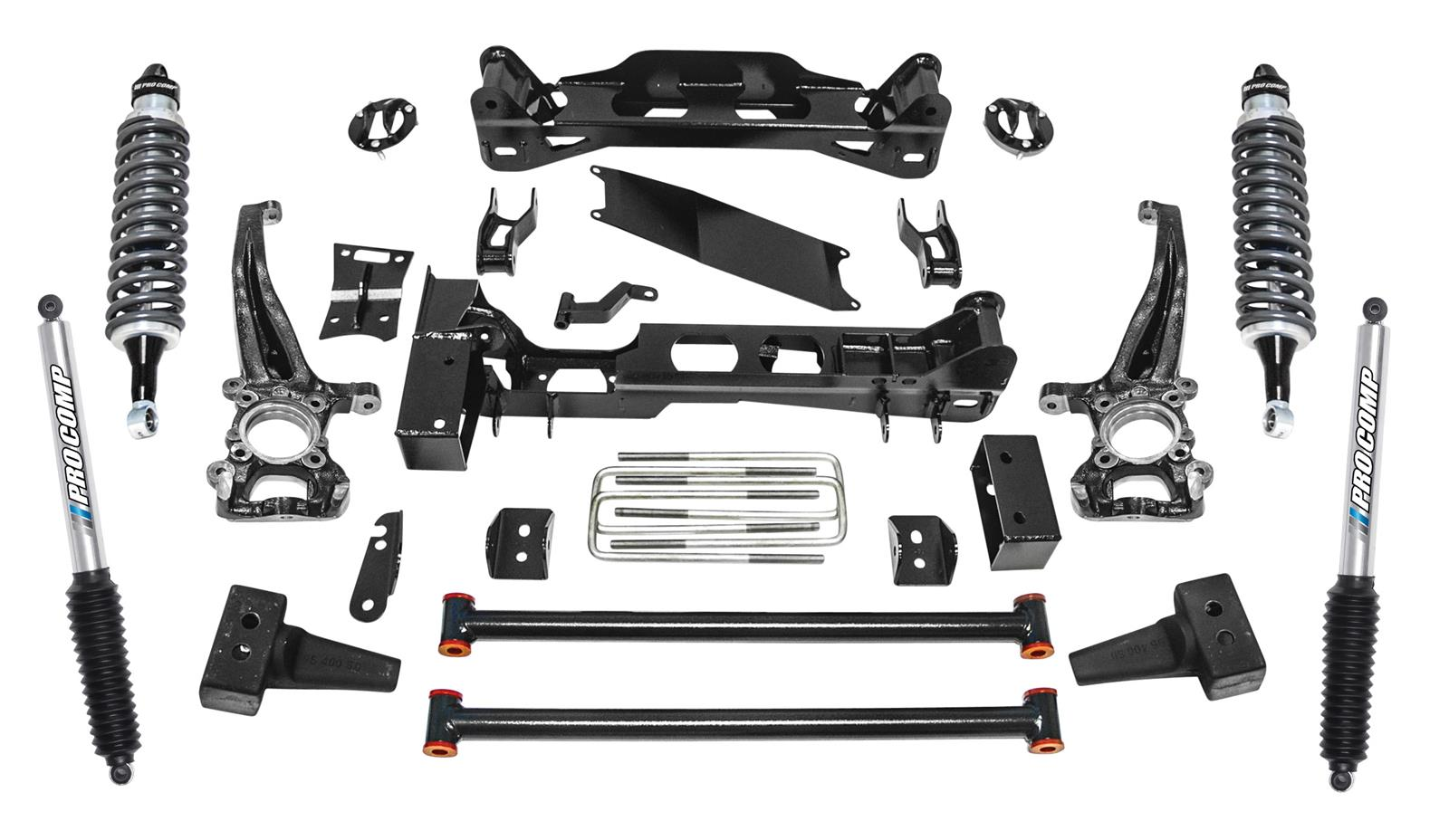 hight resolution of pro comp stage ii suspension lift kits k4189bpx free shipping on orders over 99 at summit racing