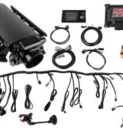 fitech ultimate ls efi 500 hp fuel injection systems 70001 free shipping on orders over 99 at summit racing [ 1600 x 1067 Pixel ]