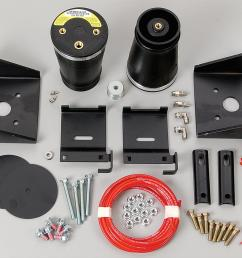 firestone sport rite air helper spring kits 2209 free shipping on orders over 99 at summit racing [ 1200 x 971 Pixel ]