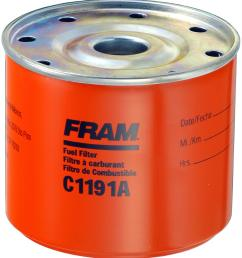 fram fuel filters c1191a free shipping on orders over 99 at summit racing [ 1374 x 1500 Pixel ]