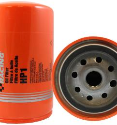 fram hp series oil filters hp1 free shipping on orders over 99 at summit racing [ 1500 x 1178 Pixel ]
