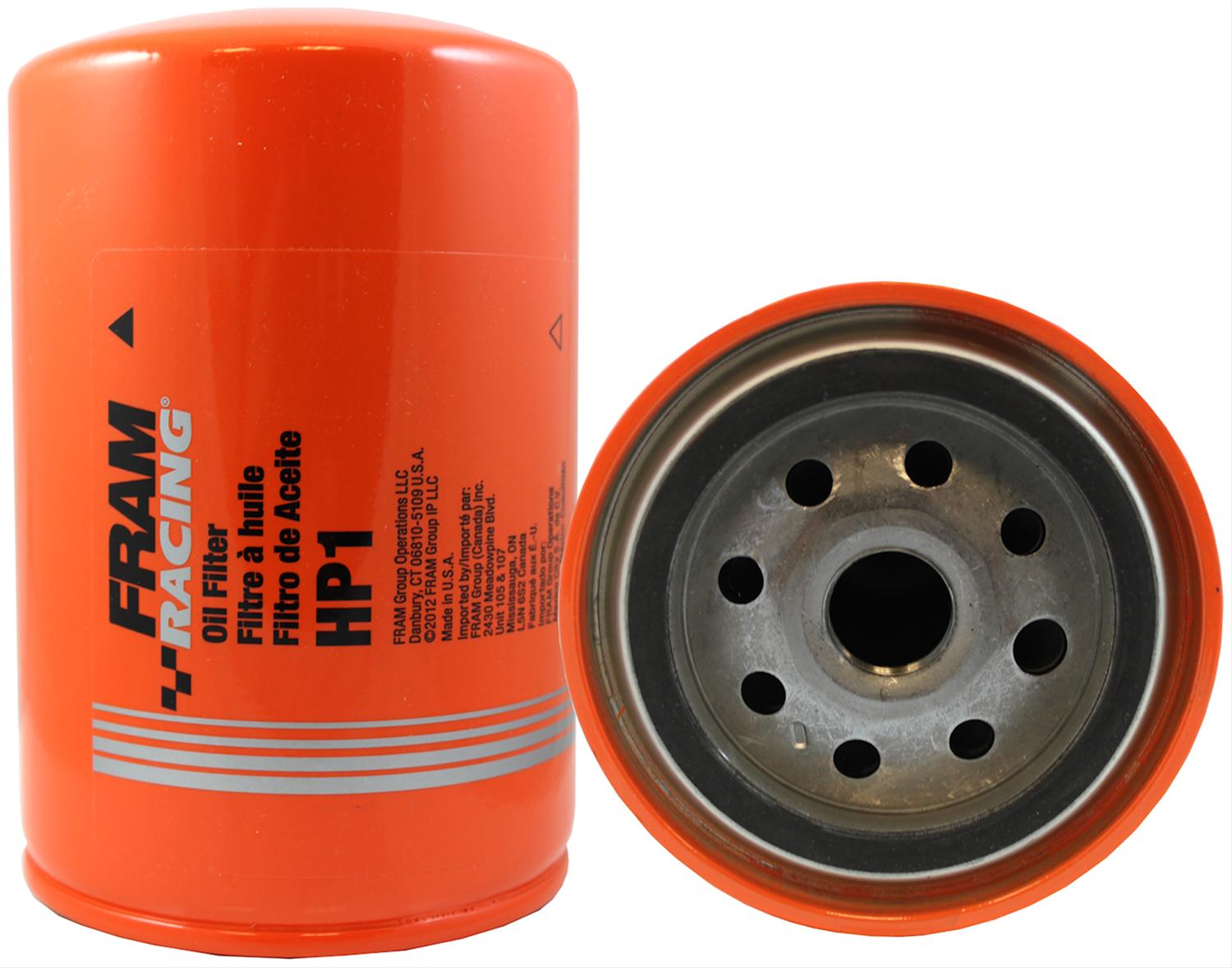 hight resolution of fram hp series oil filters hp1 free shipping on orders over 99 at summit racing