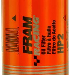 fram hp series oil filters hp2 free shipping on orders over 99 at summit racing [ 934 x 1500 Pixel ]