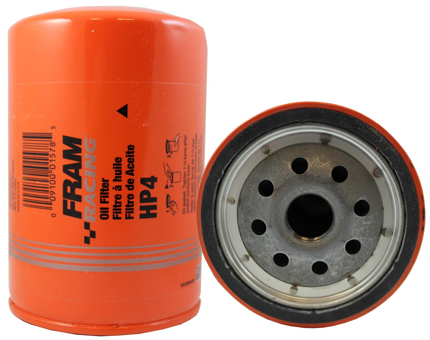 hight resolution of fram hp series oil filters hp4 free shipping on orders over 99 at summit racing