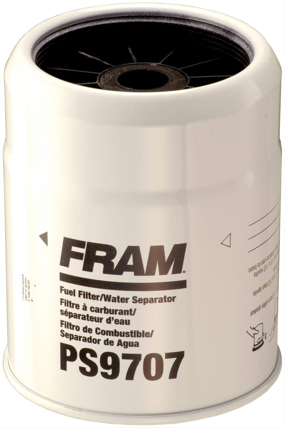 medium resolution of fram fuel filters ps9707 free shipping on orders over 99 at summit racing