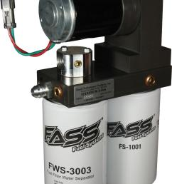fass fuel systems titanium series fuel air separation systems t d08 150g free shipping on orders over 99 at summit racing [ 1116 x 1600 Pixel ]