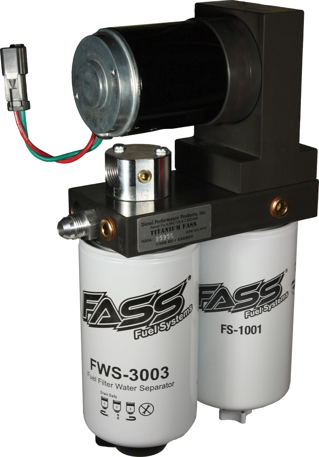 hight resolution of fass fuel systems titanium series fuel air separation systems t d08 150g free shipping on orders over 99 at summit racing