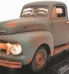 1 18 scale forrest gump 1951 ford f1 diecast model 12968 free shipping on orders over 99 at summit racing [ 1200 x 801 Pixel ]