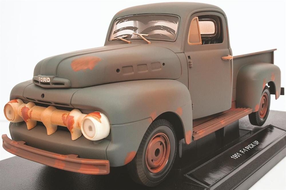 medium resolution of 1 18 scale forrest gump 1951 ford f1 diecast model 12968 free shipping on orders over 99 at summit racing
