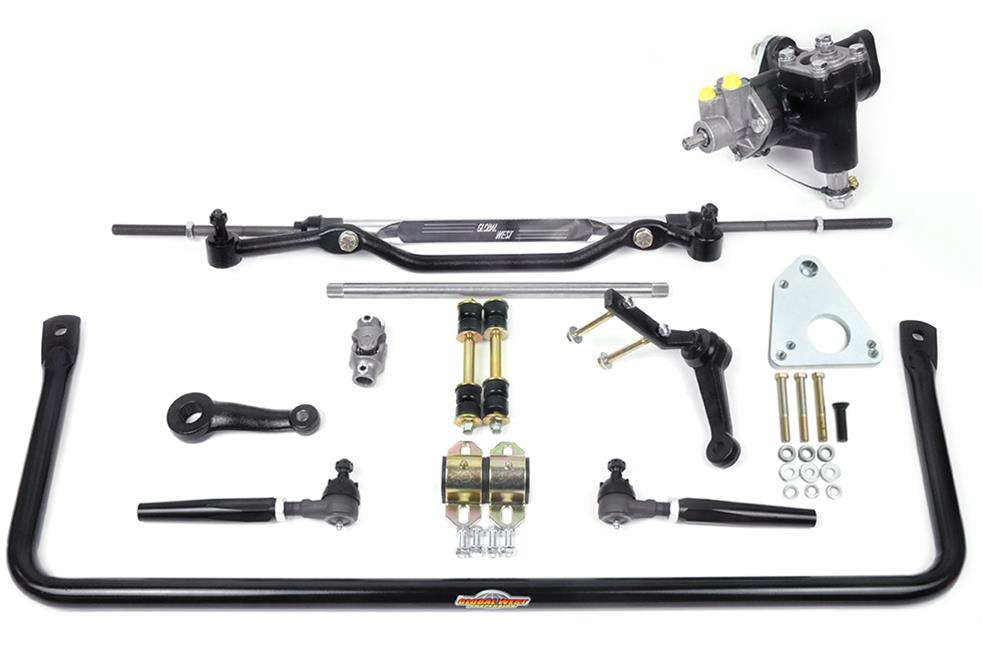 Global West Suspension Power Steering Conversion and