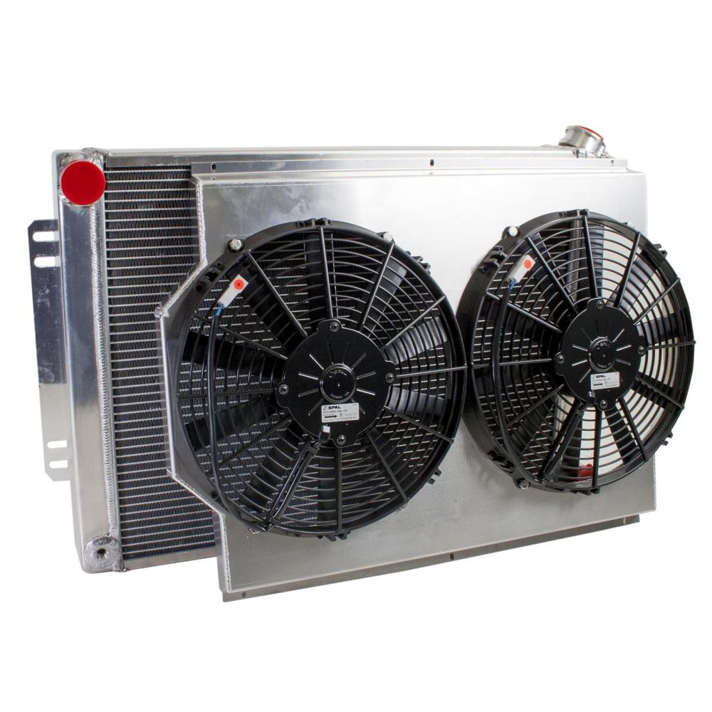 medium resolution of griffin performance fit radiator combos cu 70009 free shipping on orders over 99 at summit racing