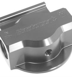 hamburger s performance remote oil filter mounts 3300 free shipping on orders over 99 at summit racing [ 1000 x 868 Pixel ]