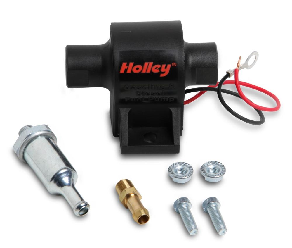 medium resolution of holley mighty mite electric fuel pumps 12 426 free shipping on orders over 99 at summit racing