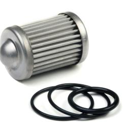 holley hp billet fuel filter replacement elements 162 565 free shipping on orders over 99 at summit racing [ 1600 x 1146 Pixel ]