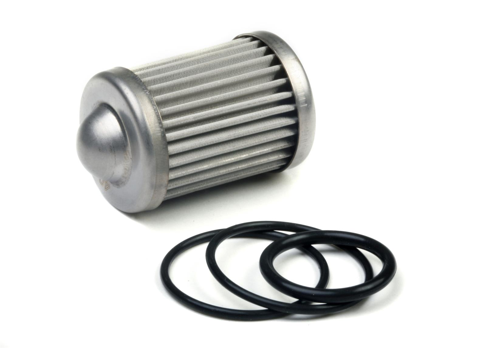 hight resolution of holley hp billet fuel filter replacement elements 162 565 free shipping on orders over 99 at summit racing