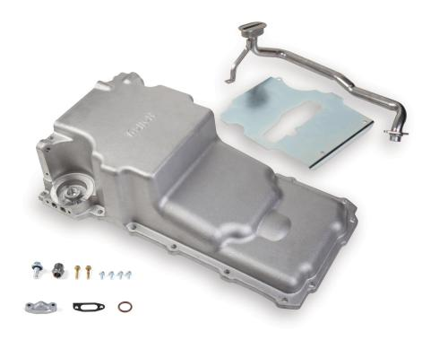 small resolution of holley gm ls retrofit engine oil pans 302 2 free shipping on orders over 99 at summit racing