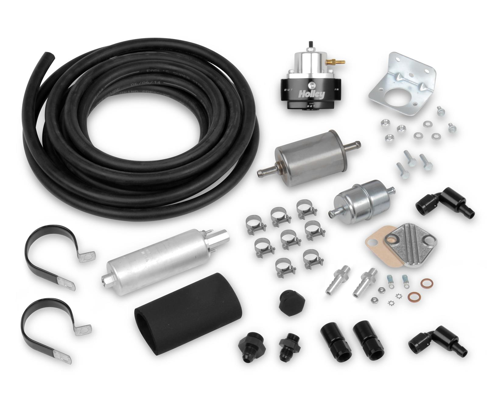 hight resolution of holley terminator efi fuel system plumbing kits 526 4 free shipping on orders over 99 at summit racing
