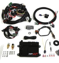 holley hp efi ecu and harness kits 550 601 free shipping on orders over 99 at summit racing [ 1600 x 1410 Pixel ]