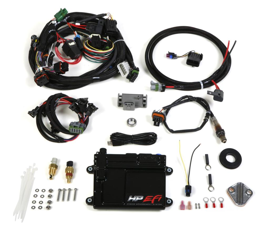 medium resolution of holley hp efi ecu and harness kits 550 601 free shipping on orders over 99 at summit racing