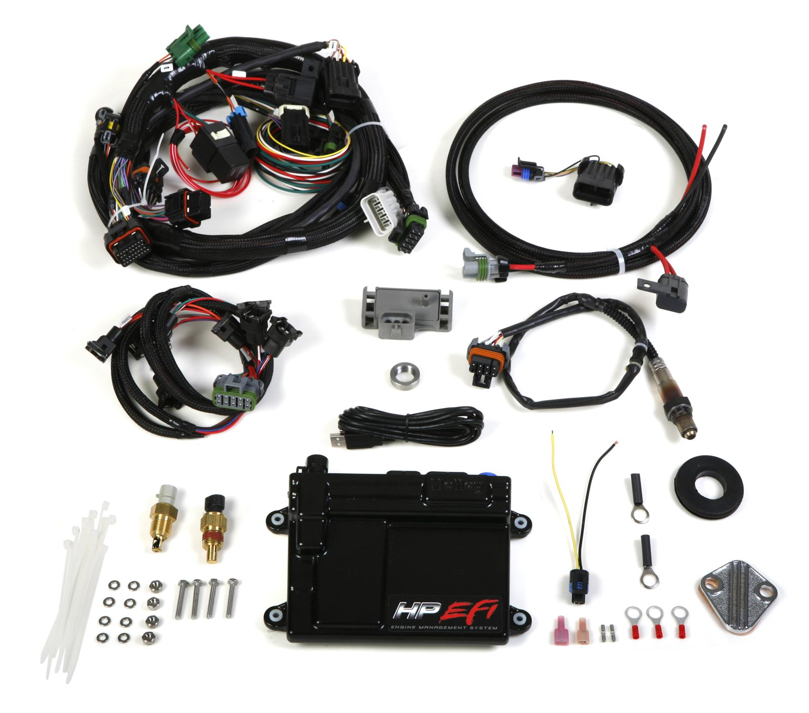 hight resolution of holley hp efi ecu and harness kits 550 601 free shipping on orders over 99 at summit racing