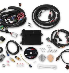 holley hp efi ecu and harness kits 550 606n free shipping on orders over 99 at summit racing [ 1600 x 1363 Pixel ]