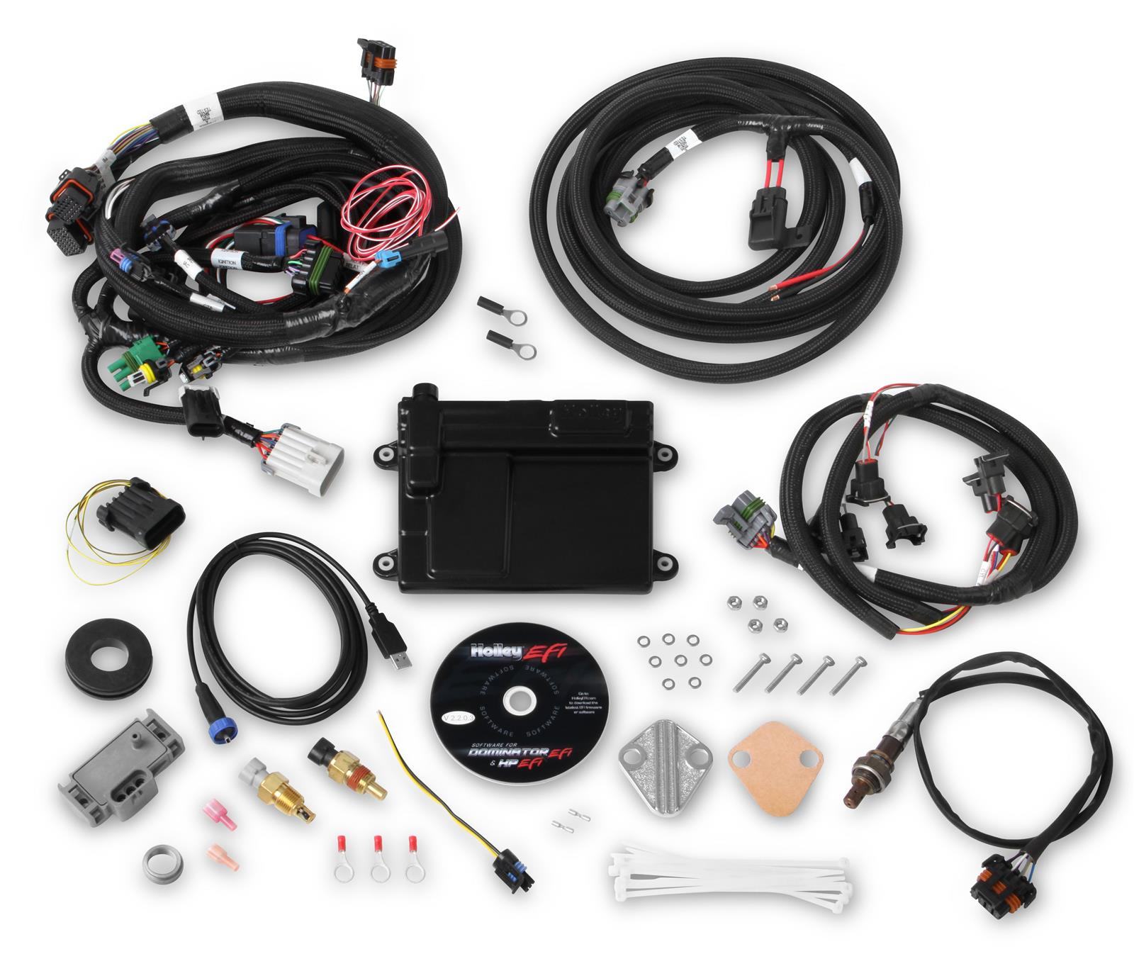 hight resolution of holley hp efi ecu and harness kits 550 606n free shipping on orders over 99 at summit racing