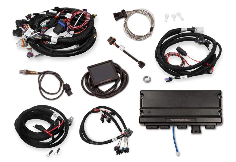 medium resolution of holley terminator x max engine management systems 550 917 free shipping on orders over 99 at summit racing
