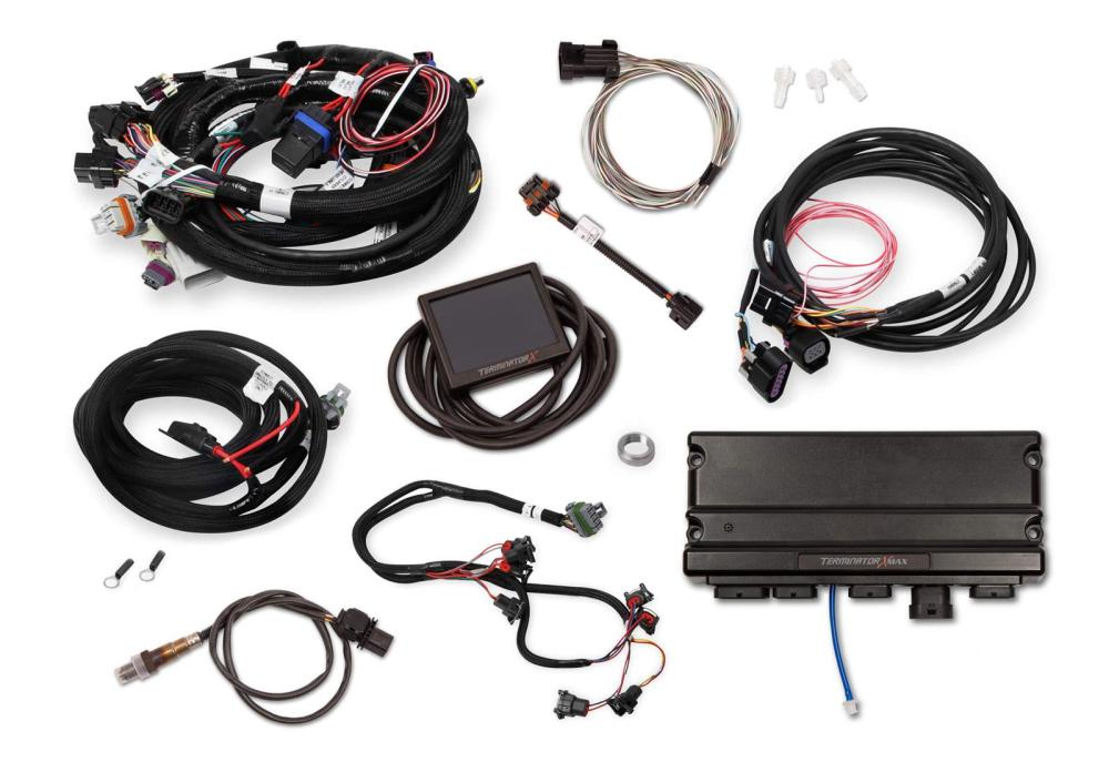 medium resolution of holley terminator x max engine management systems 550 929 free shipping on orders over 99 at summit racing