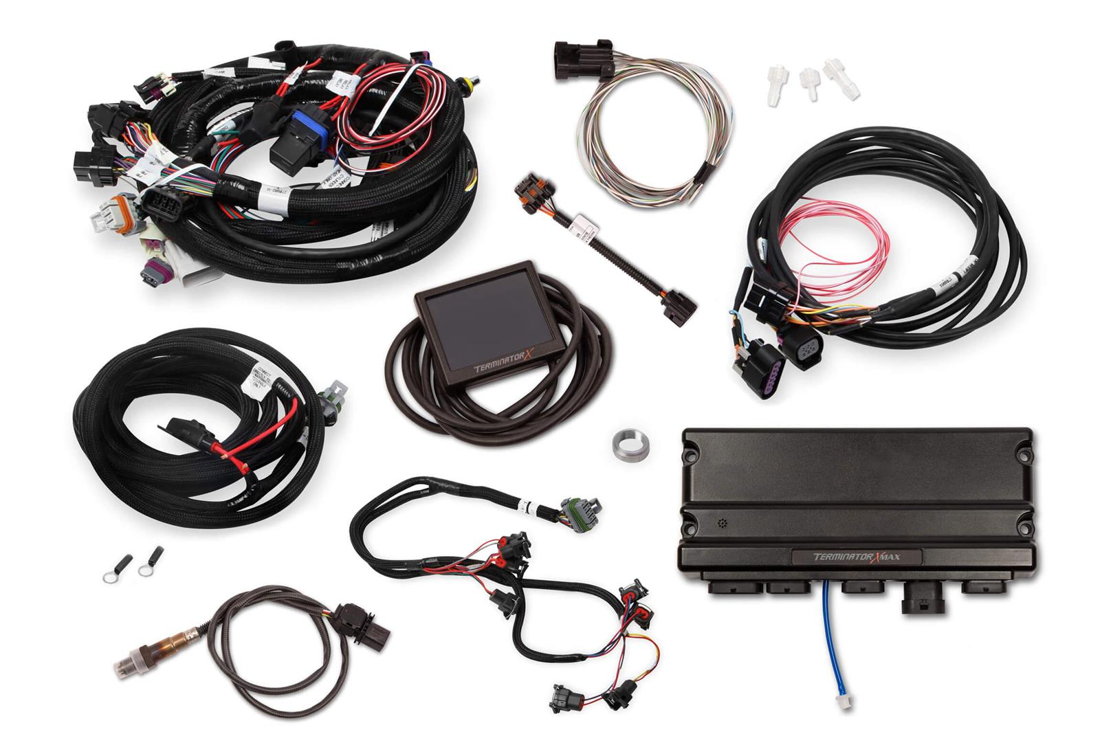 hight resolution of holley terminator x max engine management systems 550 929 free shipping on orders over 99 at summit racing