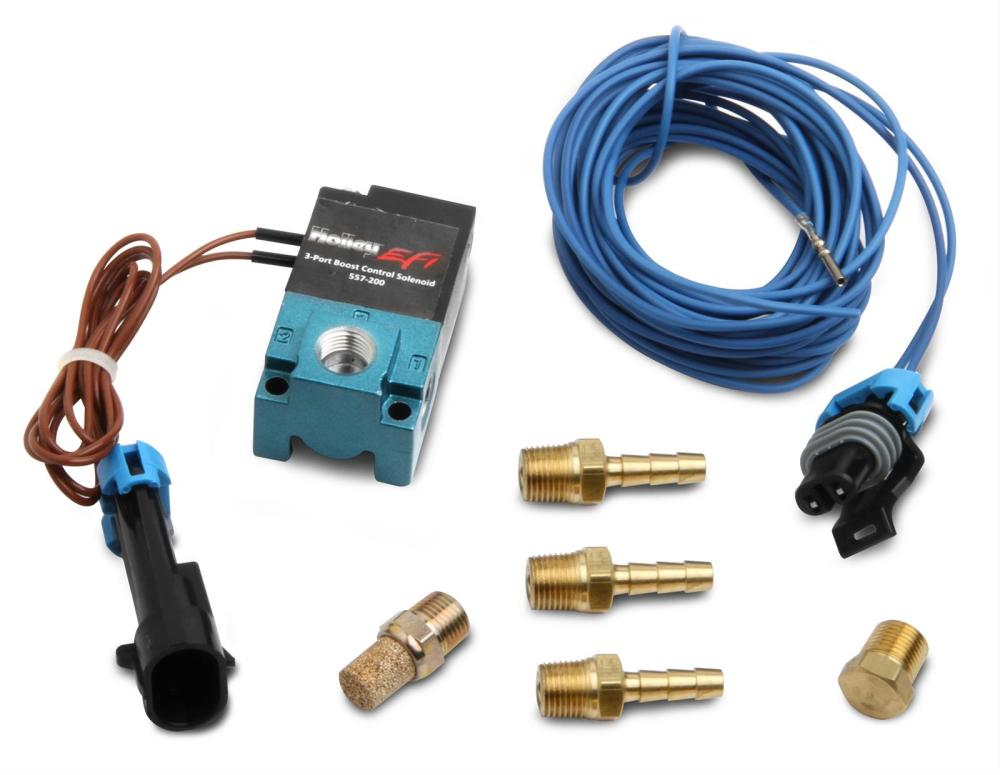 medium resolution of holley boost control solenoids 557 200 free shipping on orders over 99 at summit racing