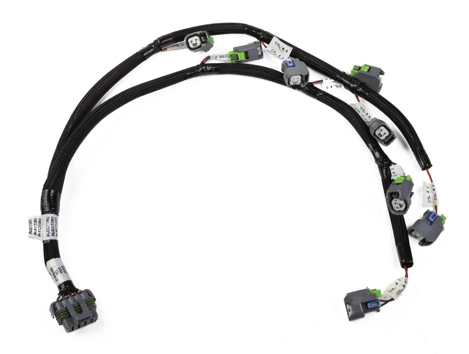 Holley Replacement Fuel Injector Wiring Harnesses 558-210