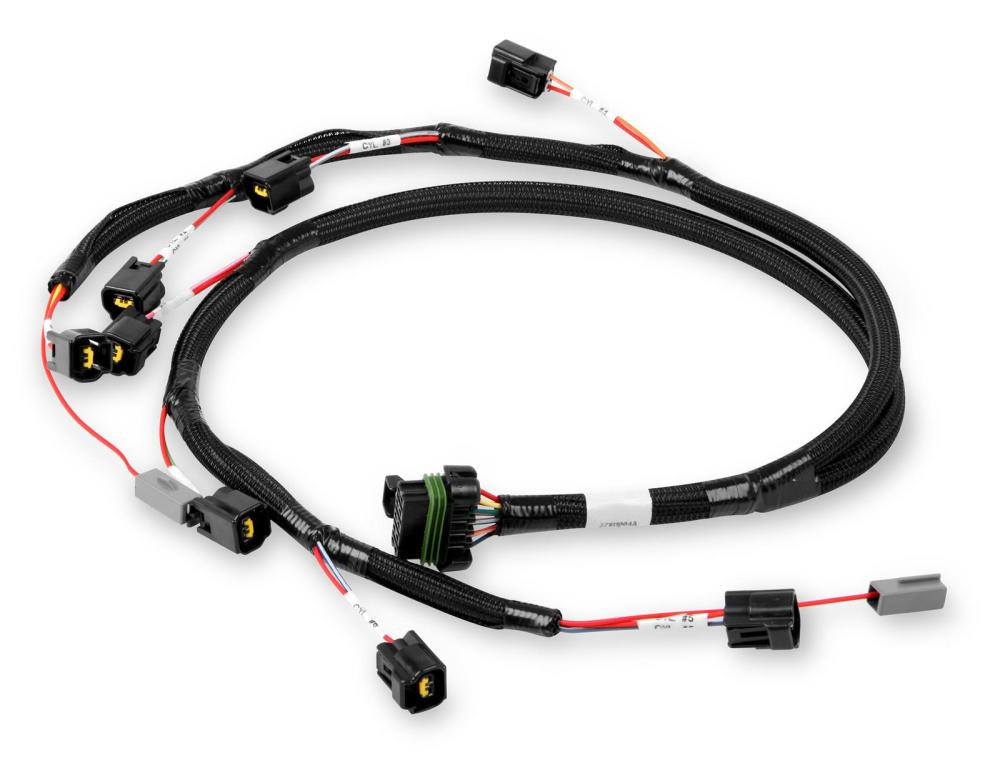 medium resolution of holley ford modular ignition coil harnesses 558 314 free shipping on orders over 99 at summit racing