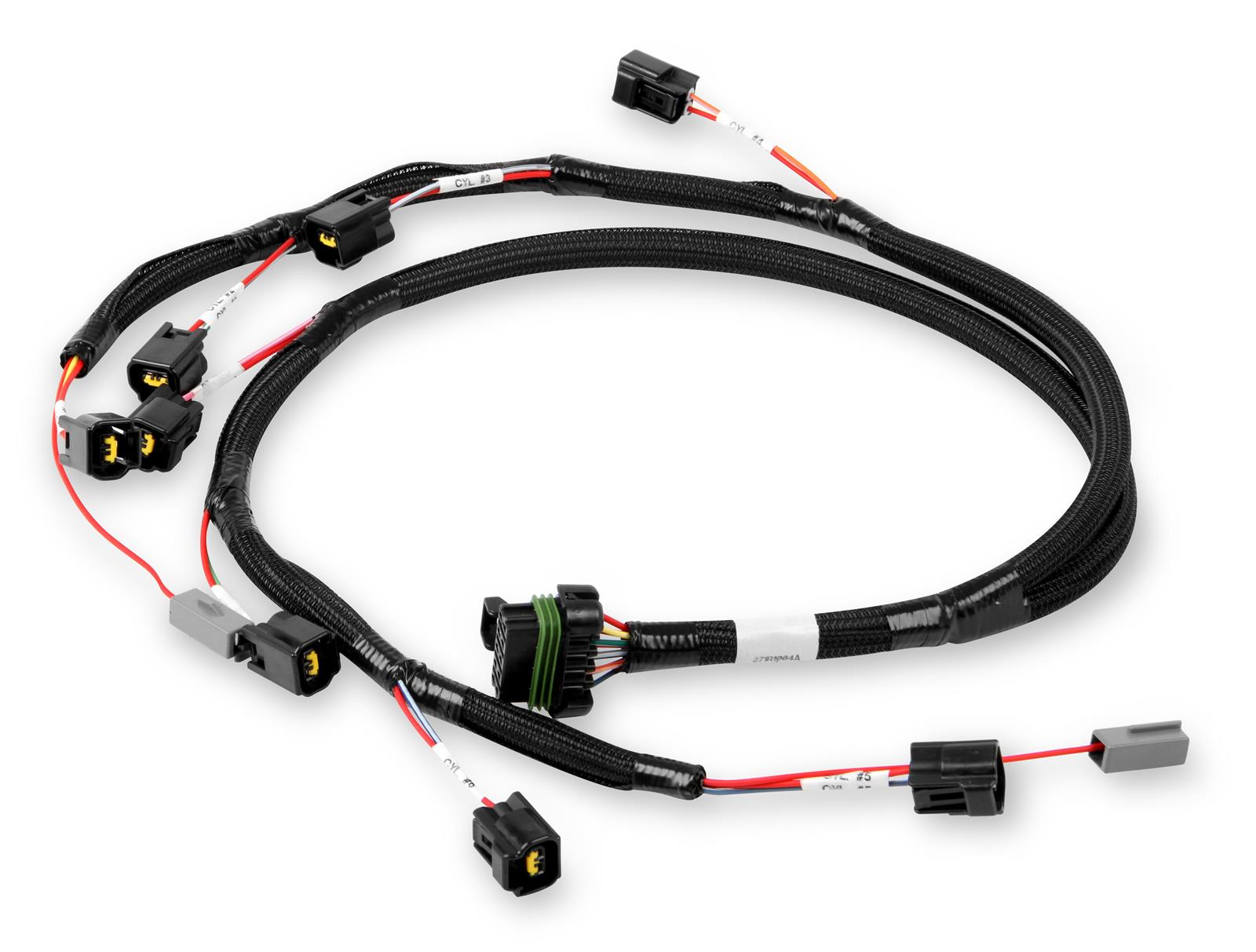 hight resolution of holley ford modular ignition coil harnesses 558 314 free shipping on orders over 99 at summit racing