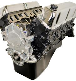 atk high performance ford 351w 300 hp stage 1 long block crate engines hp09 free shipping on orders over 99 at summit racing [ 1600 x 1532 Pixel ]