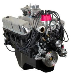 atk high performance ford 351w 300 hp stage 3 long block crate engines hp09c free shipping on orders over 99 at summit racing [ 1500 x 1500 Pixel ]
