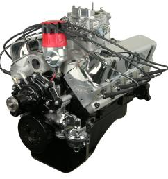 atk high performance ford 331 stroker 381 hp stage 3 long block crate engines hp14c free shipping on orders over 99 at summit racing [ 1600 x 1600 Pixel ]
