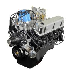 atk high performance 1968 74 ford 302 stock drop in long block crate engines hp99f free shipping on orders over 99 at summit racing [ 1500 x 1500 Pixel ]