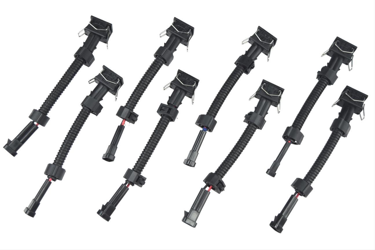 Ict Billet Fuel Injector Plug Adapters