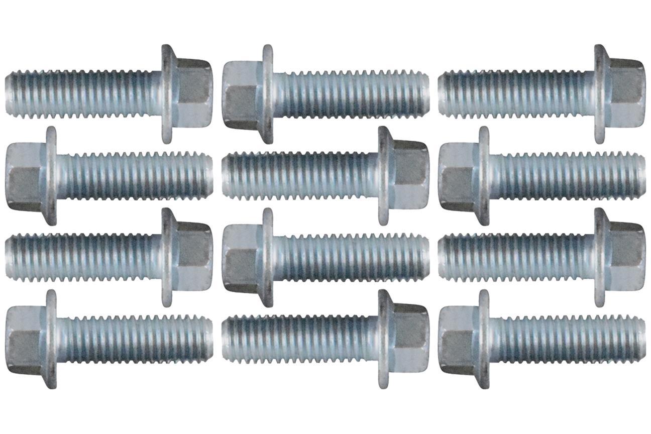 ict billet 551696 ict billet exhaust manifold bolts summit racing
