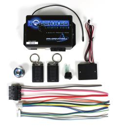 ididit touch n go keyless ignition systems 2600670100 free shipping on orders over 99 at summit racing [ 1406 x 1600 Pixel ]