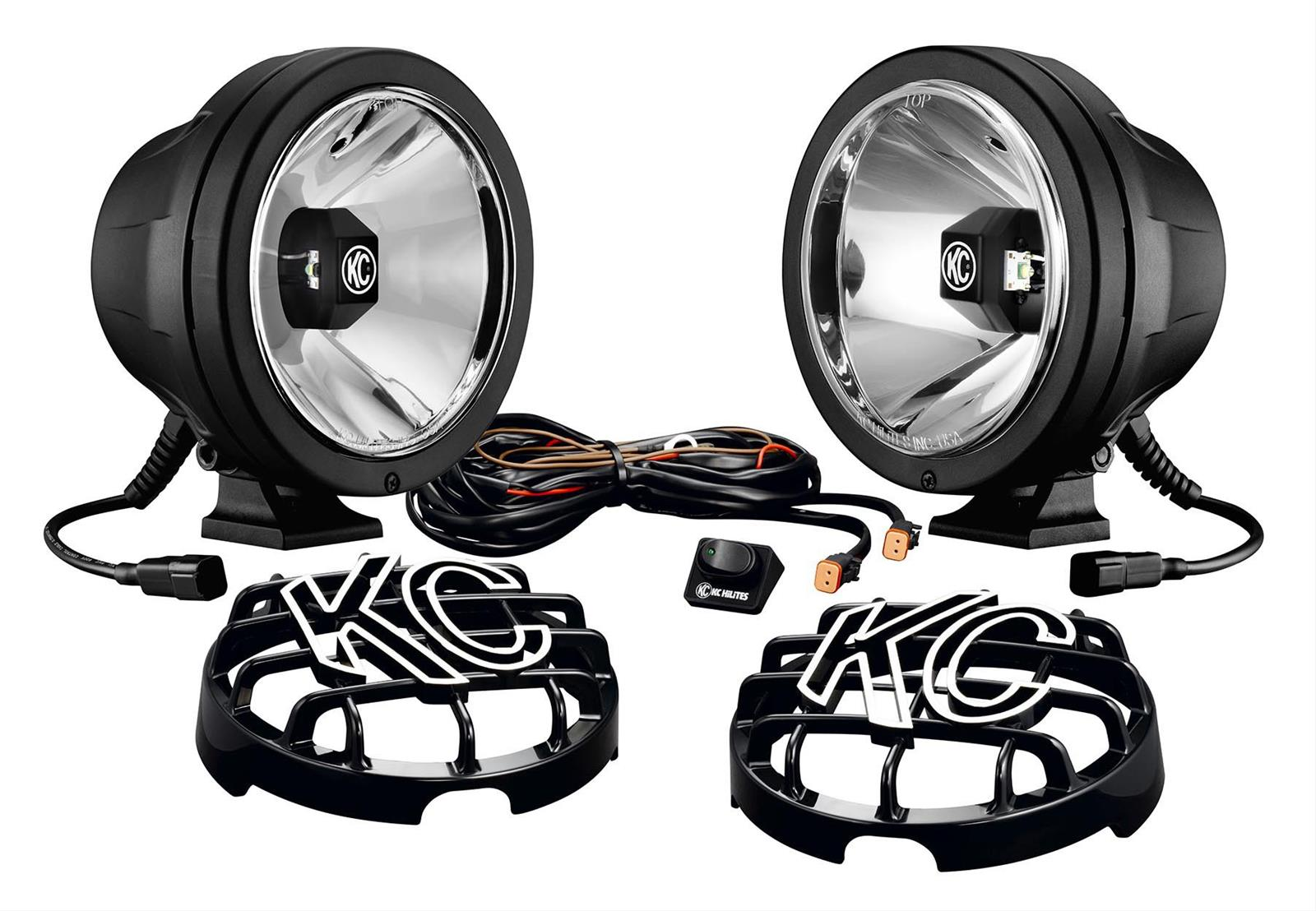 hight resolution of kc hilites pro sport gravity led driving lights 643 free shipping on orders over 99 at summit racing