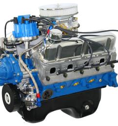 blueprint engines ford 306 c i d drop in ready long block crate engines bp3060ctcd free shipping on orders over 99 at summit racing [ 1600 x 1247 Pixel ]