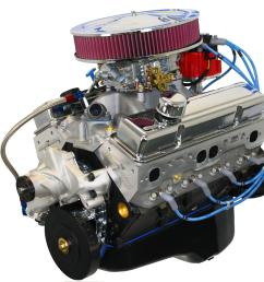 blueprint engines gm 383 c i d 430 hp stroker base dressed long blocks w aluminum heads bp38313ctc1d free shipping on orders over 99 at summit racing [ 1600 x 1356 Pixel ]
