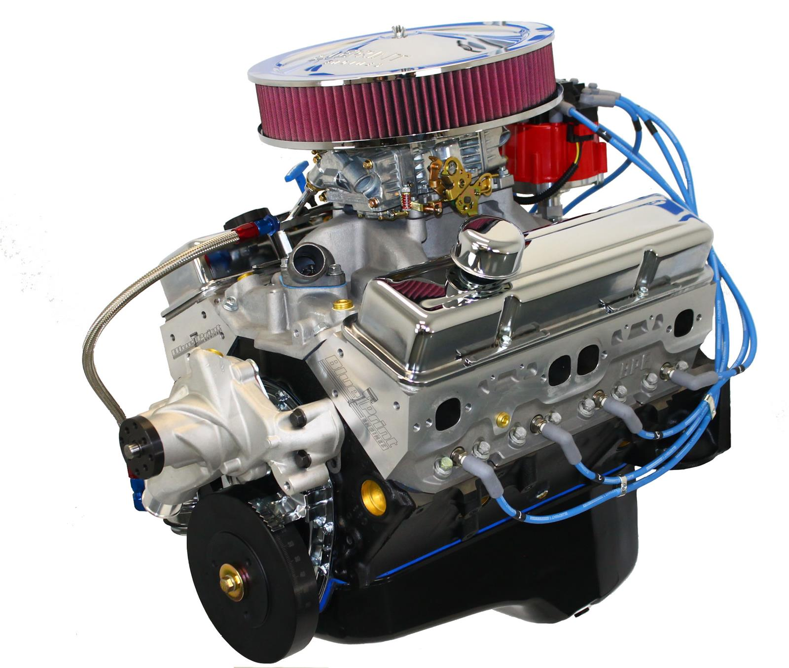 hight resolution of blueprint engines gm 383 c i d 430 hp stroker base dressed long blocks w aluminum heads bp38313ctc1d free shipping on orders over 99 at summit racing
