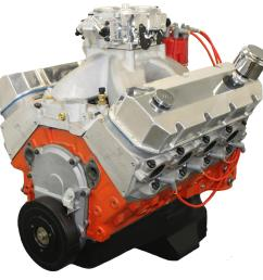 blueprint engines pro series chevy 632 c i d 815 hp dressed long block crate engines ps6320ctf1 [ 1600 x 1444 Pixel ]