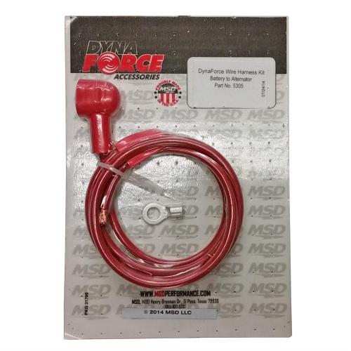 small resolution of alternator wire harnes wire size