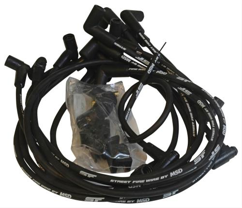small resolution of msd street fire spark plug wire sets 5554 free shipping on orders over 99 at summit racing